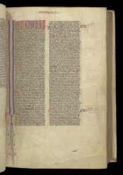 The Start Of Genesis, In A Bible